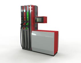 3D model Gas station - Topaz-23x