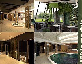 Spa In Eco Style 3D