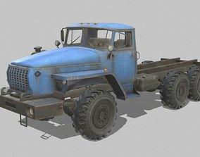 URAL 4320 3D asset game-ready PBR