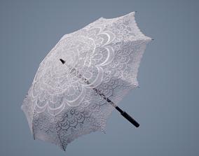 3D model Lace Pattern Shade Umbrella
