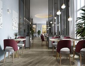 3D Restaurant interior design