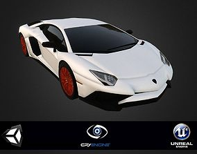 Lamborghini Aventador other 3D model realtime