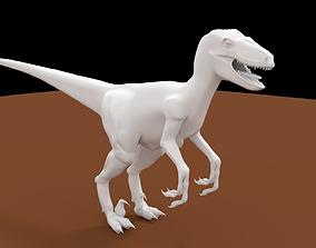 animals Velociraptor 3D model