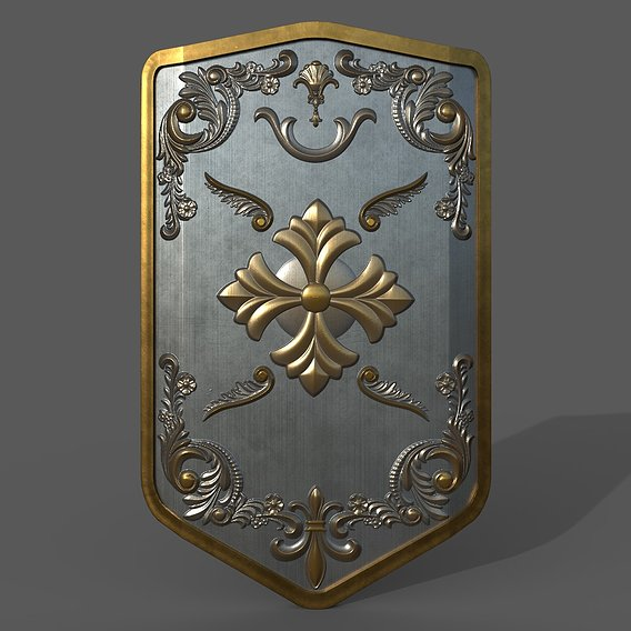 Medieval Battle Shield