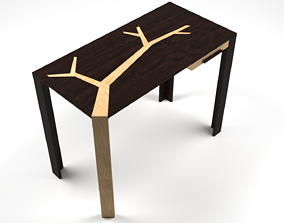 Angkor Table by Olivier Dolle - 3ds Max low-poly