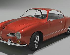 Volkswagen Karmann-Ghia Coupe 3D model