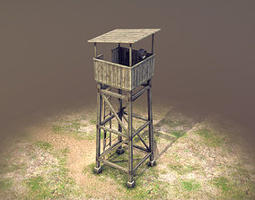 Observation Tower 01 3D model