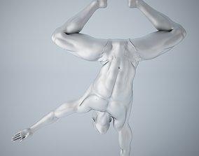 3D printable model Man yoga 009