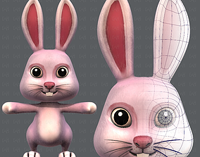 3D asset Rabbit V01