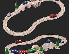 3D Toy railway