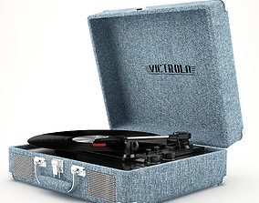 Victrola Vsc-550bt Tornamesa Parlante Bluetooth 3D model