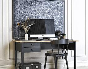 office 3D model Office workplace 28