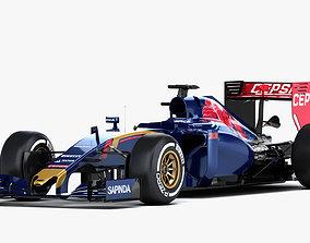 F1 Renault STR10 Formula One 2015 3D model
