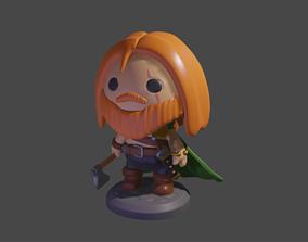 Viking toy Man 3D