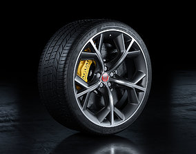 Jaguar F-Type R Wheel 3D