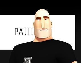 Paul Stylized Male Character 3D