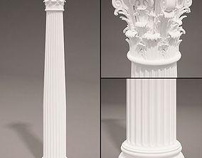 3D Antique Column type 2