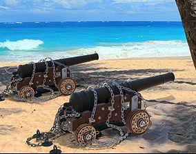 MODO - The Soul Ship Cannons 3D model