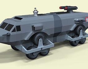 Landmaster from Damnation Alley 3D model