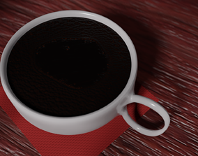 Coffee Cup 3D beverage