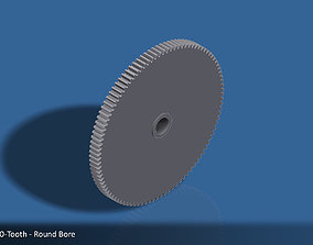 100-Tooth Spur Gear 03 3D print model torque