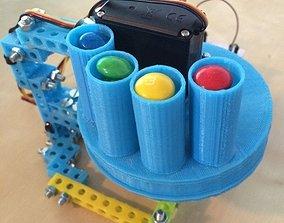 3D printable model Automatic pill dispenser