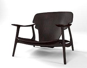 DIZ armchair by Sergio Rodrigues 3D model furniture