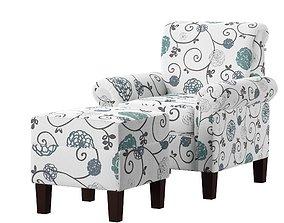 3D asset Dungannon Armchair