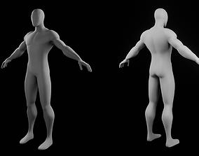 3D model Base Mesh Spider Man