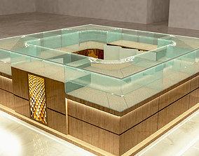 3D asset showcase glasses