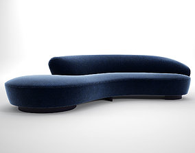 Serpentine Sofa 3D