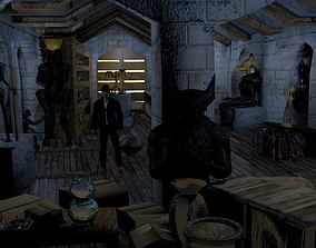 Indiana Jones Attic 3D model