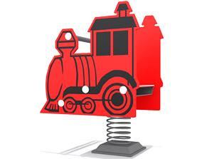 3D asset Playground - Train Rider