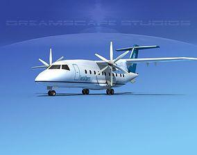 3D model Dornier Do-328-130 Coastal Express