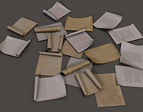 paper Pack 3D model low-poly