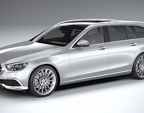 3D model Mercedes E-Class Estate 2021