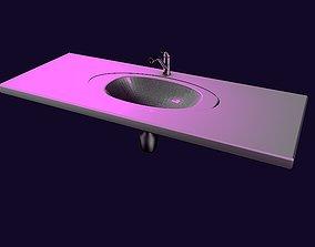 3D Bathroom sink series 1-2