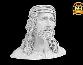 religious Jesus statue 3D print model