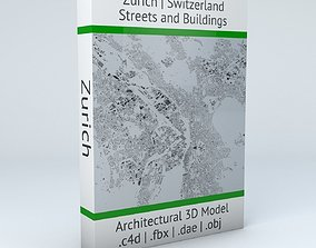 3D Zurich Streets and Buildings