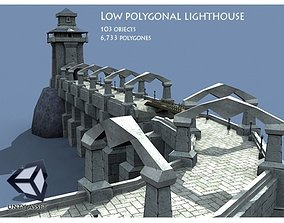 Ancient Lighthouse 3D asset
