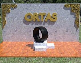 ORTAS TIRE NO 24 GAME READY 3D model