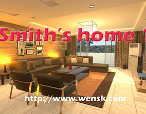 3D model Smiths Home 1