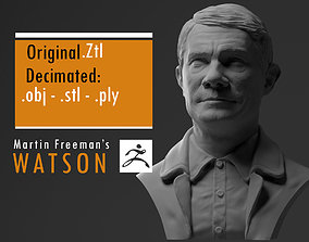 Martin Freeman John Watson - from 3D printable model
