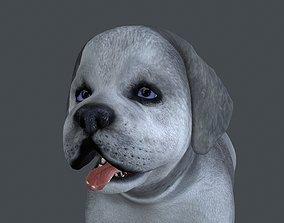 3D model FDJI-012 Standing Dog