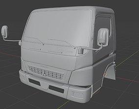 3D model Mitsubishi Fuso Canter Cab