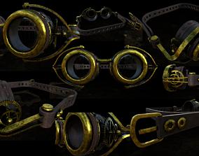 Glass - Steampunk 3D asset