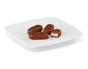 3D model Chocolate bars 2