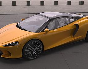 McLaren GT 2020 3D