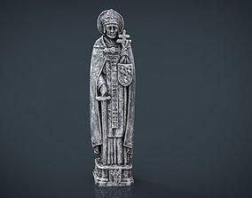 Saint Thomas Aquinas 3D model