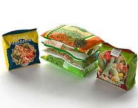 Packed Frozen Food 3D